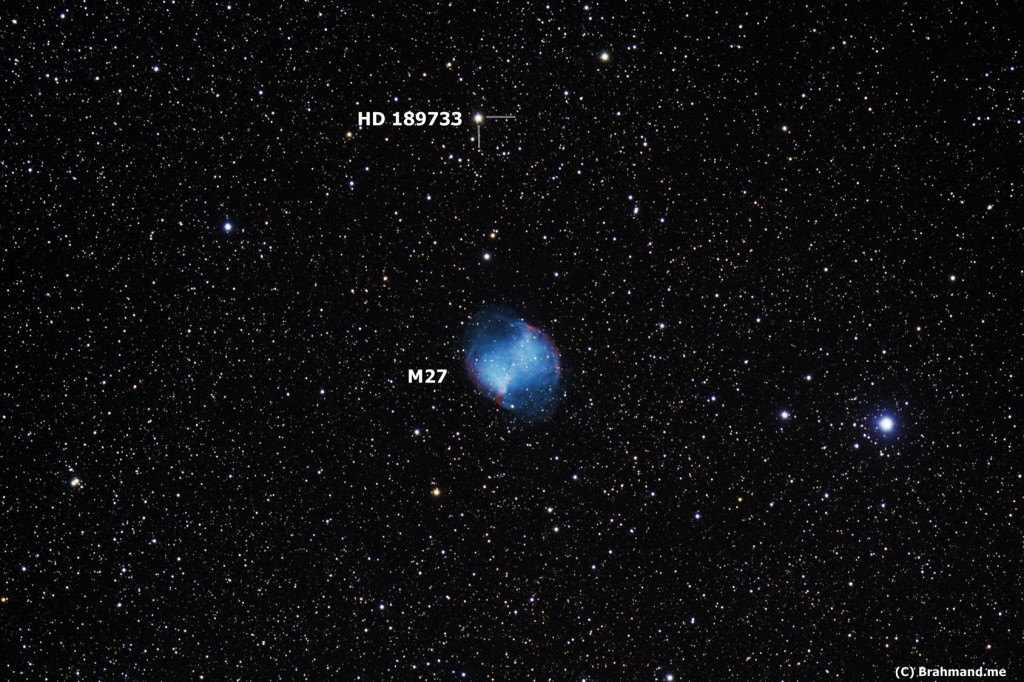 M27 Dumbbell Nebula Vulpecula PN - Pics about space
