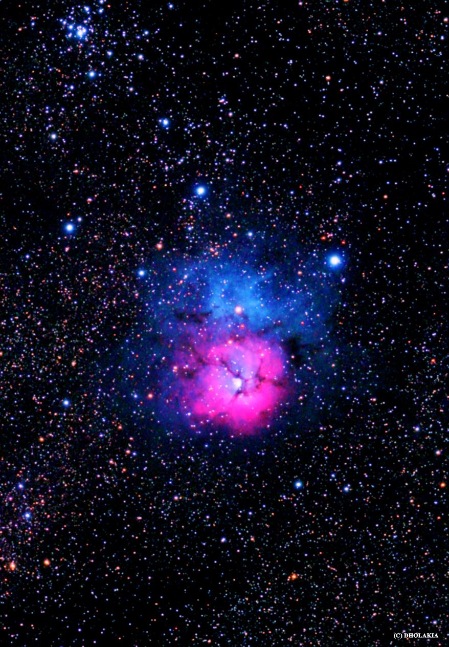 Trifid Nebula (M20) – Brahmand is Me